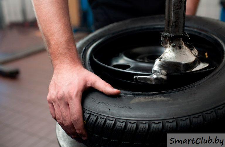 Как снять бескамерную шину с велосипеда диска